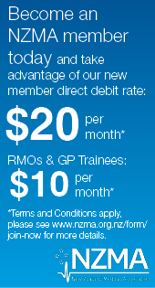 NZMA web banner - new member offer