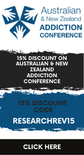 Aus and NZ Addiction Conf ad Aug